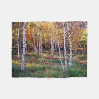 Maine, Acadia National Park, Autumn Fleece Blanket