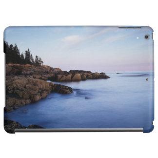 Maine, Acadia National Park, Moonset