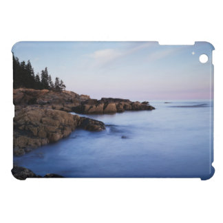 Maine, Acadia National Park, Moonset Cover For The iPad Mini
