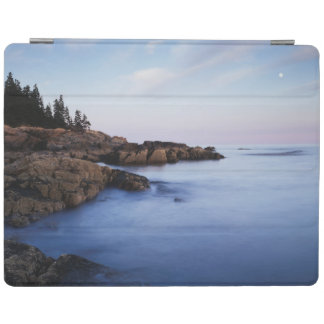 Maine, Acadia National Park, Moonset iPad Cover