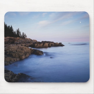 Maine, Acadia National Park, Moonset Mouse Mat