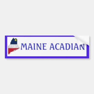 Maine Acadian Bumper Sticker