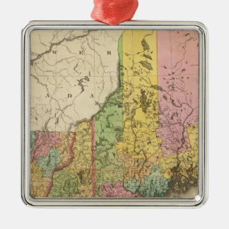 Maine and New Hampshiere Christmas Ornament