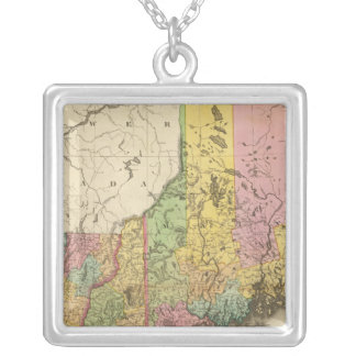 Maine and New Hampshiere Silver Plated Necklace