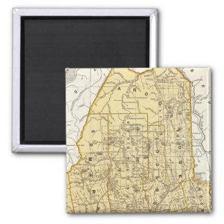 Maine Atlas Map Magnet