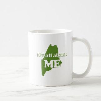 Maine Basic White Mug