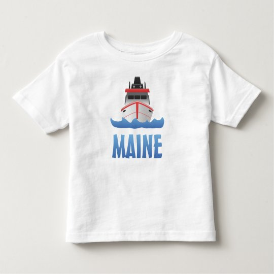 Maine Big Boat Toddler T-Shirt