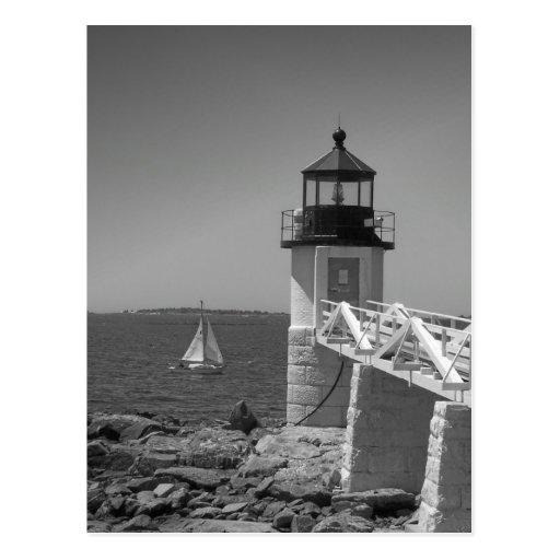 Maine_Black+White_7 Postcards