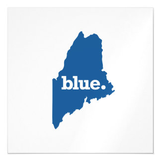 MAINE BLUE STATE MAGNETIC INVITATIONS