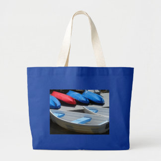 Maine Boats Canvas Bags
