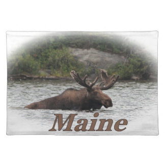 Maine Bull Moose Placemat