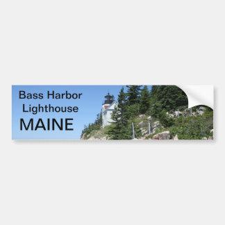 Maine bumper sticker 009 car bumper sticker