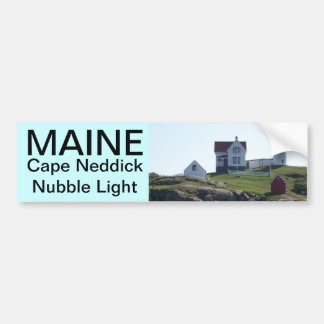 Maine bumper sticker 011 car bumper sticker