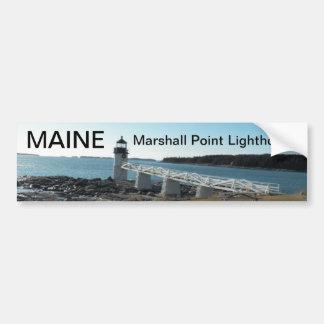 Maine bumper sticker 015 car bumper sticker