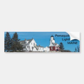 Maine bumper sticker 018 car bumper sticker
