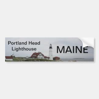 Maine bumper sticker 021 car bumper sticker