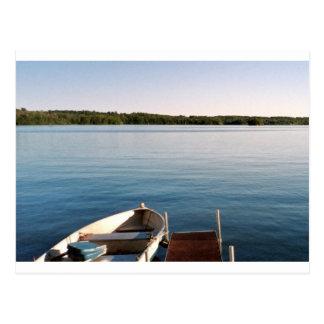 Maine Camp China Lake Postcard