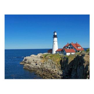 Maine Coastal Lighthouse Post Card