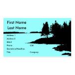 Maine Coastline Business Card