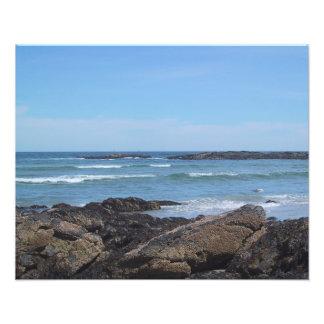 Maine Coastline Photograph