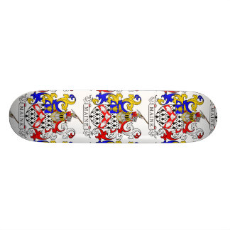 Maine Coat of Arms Skateboard