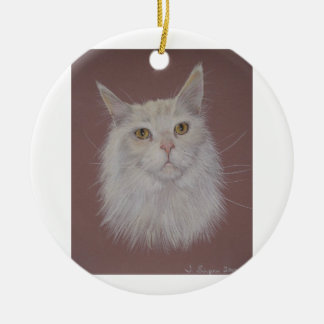 Maine Coon - Ally Christmas Ornament