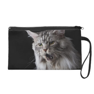 Maine Coon cat 2 Wristlet