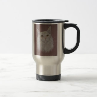 Maine Coon cat - Ally Travel Mug