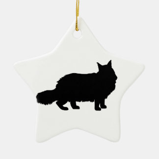 Maine Coon Cat Christmas Ornament