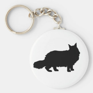 Maine Coon Cat Key Ring