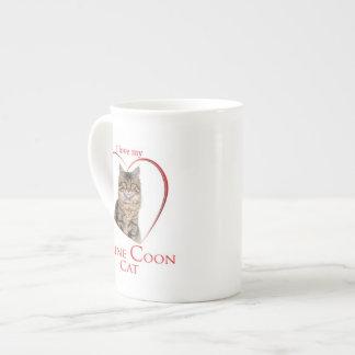 Maine Coon Cat Mug Tea Cup