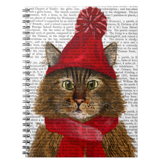 Maine Coon Cat Notebook