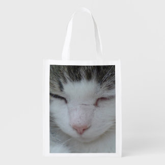 Maine Coon Cat Photo Image 2 - Fabric Reusable Bag