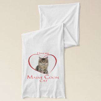 Maine Coon Cat Scarf