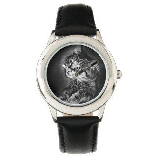 Maine Coon Cat Watch (kid's)