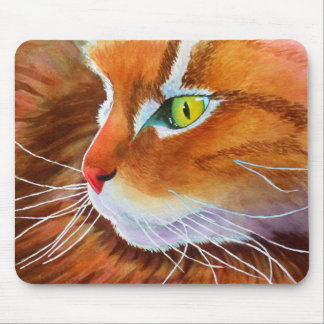 Maine Coon Cat Whiskers Mouse Mat