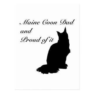 Maine Coon Dad Postcards