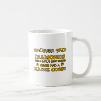 Maine coon designs coffee mug