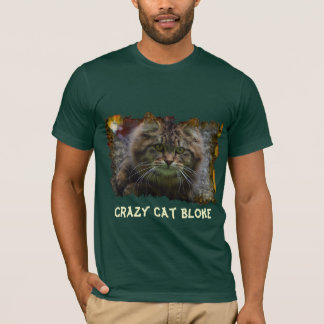 Maine Coon Fluffy Kitty Cat-lover Bloke (Male) Tee