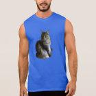 Maine Coon macho cat Sleeveless Shirt