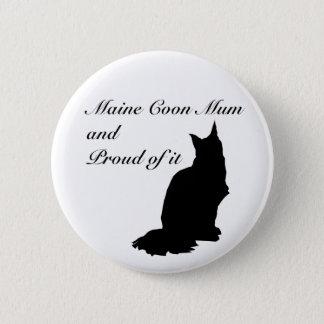 Maine Coon Mum 6 Cm Round Badge