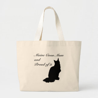 Maine Coon Mum Large Tote Bag