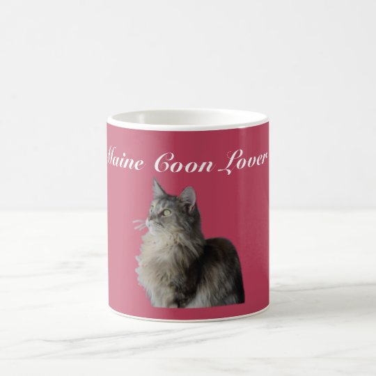 Maine Coon Pedigree Cat. Coffee Mug