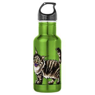 Maine Coon Tabby Gentle Giant 532 Ml Water Bottle