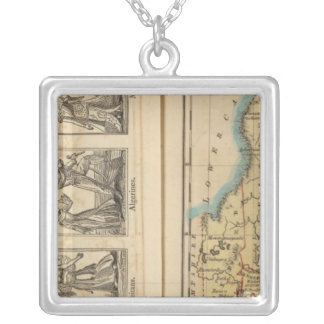 Maine Costumes Silver Plated Necklace