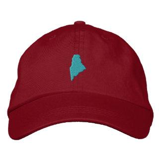 Maine Embroidered Baseball Caps