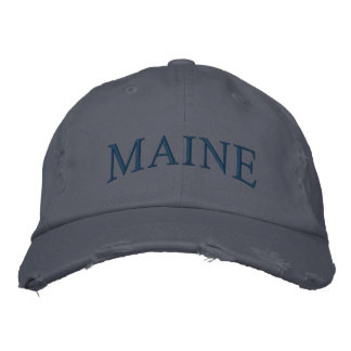 MAINE Embroidered Hat