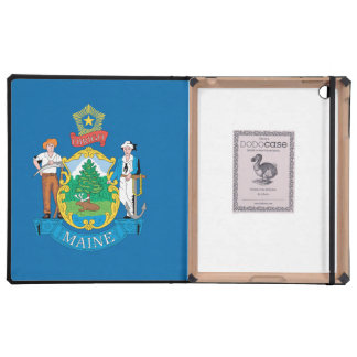 MAINE FLAG COVER FOR iPad