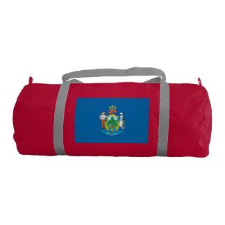MAINE Flag Gym Duffel Bag
