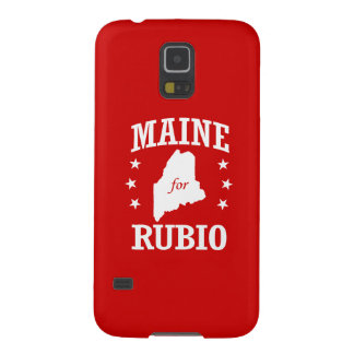 MAINE FOR RUBIO GALAXY S5 CASES